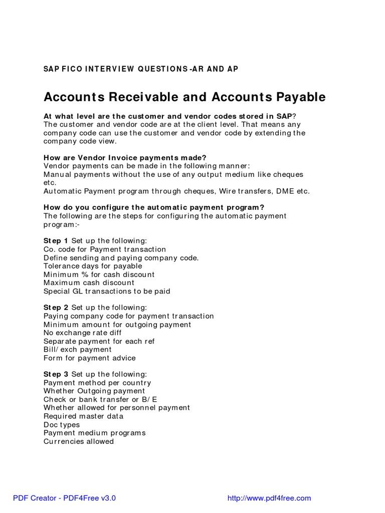 SAP APAR | Payments | Debits And Credits