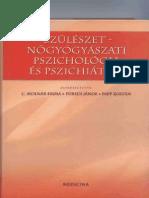 C Molnar Emma Szülészet- Nőgyógyászati Pszichológia És Pszichiátria 1