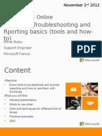 Exchange Troubleshooting and Reporting Basics1