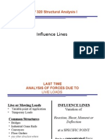 Influence Lines 2 F2008