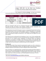 Fine Non Woven India BankLoan 6.25Cr Rationale 25Mar2014