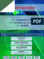 1 Lab Organization