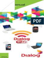 Dialog Wi Fi User Manual