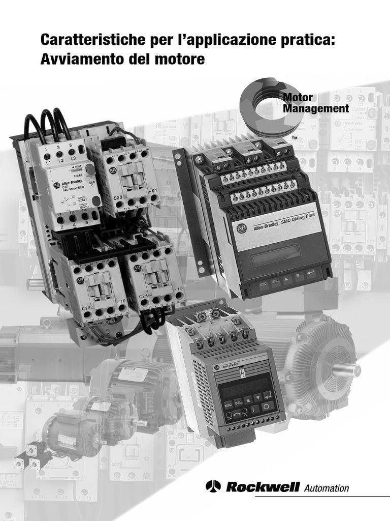 Schemi Elettrici Industriali Pdf : Avviamento del motore elettrico.pdf