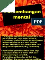 Perkembangan Mental