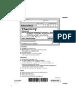 Edexcel GCE Chemistry Unit-4 June 2010 Question Paper