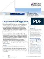 4400 Appliance Datasheet