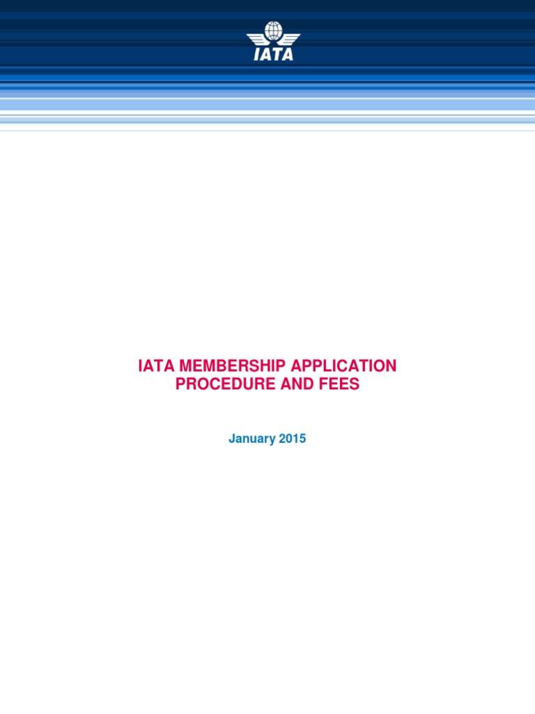 how to register for iata membership