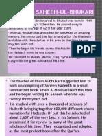 Major Books of Hadeeth Part 2