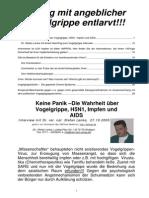 Stefan Lanka - Keine Panik – Die Wahrheit über Vogelgrippe, H5N1, Impfen und AIDS