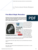 Free Black Magic Remedies, Hinduism, India, Dark Magic _ Hinduism Facts _ Facts About Hindu Religion
