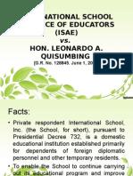 International School Alliance