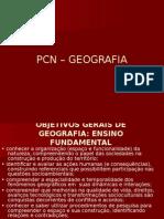 Apresentação Pcns de Geografia