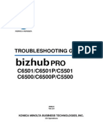 BizhubProC6500-C6501 TroubleshootingGuide Ver2.0E