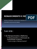 E2. Renascimento e Reforma