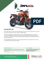 Benelli BN302 Brochure