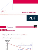 Optical AmOptical amplifiersplifiers