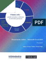 M.excel 2010prirucnik Proracunske Tablice