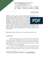 Índice de desenvolvimento municipal da micro e pequena empresa no Paraná - IDMPE - Guarapuava, região e grandes municípios 25-10-2013.pdf