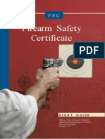 Firearm Safety Certificate Study Guide