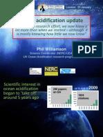 Williamson 2014 Ocean Acidification Climate Change