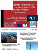 Elliott 2014 Marine Governance Mapping