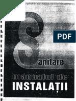 Manualul de Instalatii - Instalatii Sanitare
