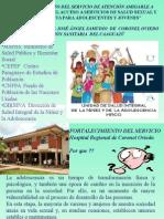 HOSPITAL REGIONAL C. OVIEDO Socializacion Promocion en Colegios