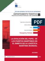 La Evolución Del Papel de Los Puertos Maritimos en El Ambito de La Logistica Maritima Mundial