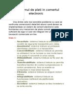 Sistemul de Plati in Comertul Electronic