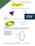 04.1 Td n 1 Centre d Inertie Aire Volume