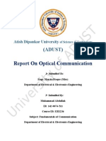 Optical Communication Report