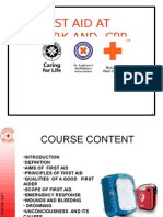 Basic First Aid Rc