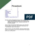 LeShay Phrasebook