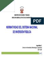 Sistema Nacional de Inversion Publica Snip 12-06-2014