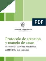 Protocolo Atención AH1N1
