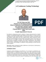 Metallurgy of Continiuous Casting Technology.pdf