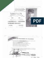 Libreta Militar y Tarjeta de Conducta