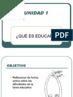 Sesion 1 i Unidad Educar 07-08