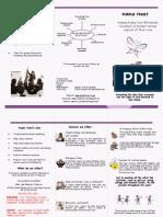 Purple Trust Leaflet