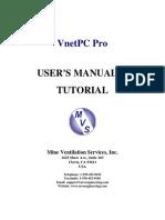 Manual Vnetpc