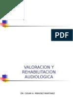 VALORACION Y REHABILITACION AUDIOLOGICA DIF.ppt
