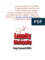10 Quotes About Loyalty in the Bible