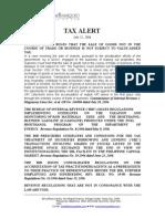 Tax Alert - 2006 Jul