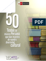 50 Textos Diversidad Musical