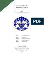 UTS Pengukuran &Metrologi_Maha Willy Chandra_1206263080