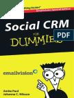 Social Crm fosocial crm for dummiesr Dummies