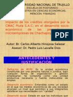 Sustentacion de Carlos Hinojosa 2010