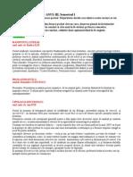 Cursuri Optionale Romana Anul III- 2013-2014
