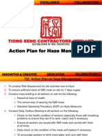 Action Plan on Haze Management (Tiong Seng)